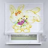 Римская фото штора Зайчишки, фото 2