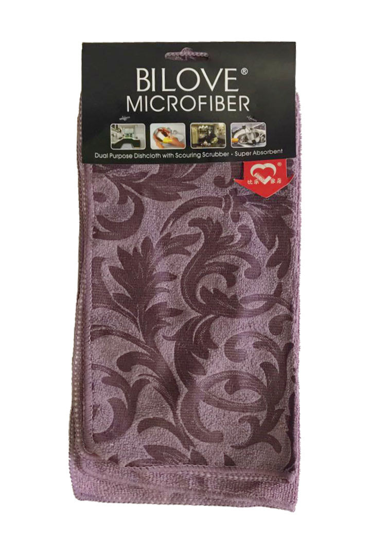 Полотенце микрофибра 41х48 см набор 2 шт Super