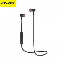 Беспроводные Bluetooth вакуумные наушники Awei B923BL с магнитами