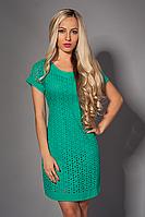 Платье  мод 477-3 размер 42-44.44-46 бирюза
