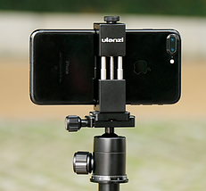 Металеве кріплення для телефону Ulanzi ST-01 на штатив, фото 3