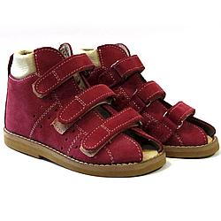 Детские ортопедические сандали, красные Wik 13-03