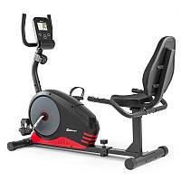 Велотренажер горизонтальний магнитный HS-040L Root black/gray для дома и спортзала
