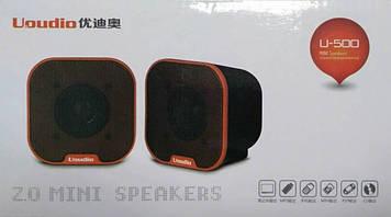 U-500 SPEAKERS Портативные USB колонки