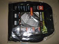 Накидка на сиденье с подогревом черная низкая 12В  DK-514BK
