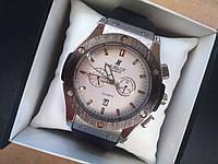 Часы мужские Hublot silver 3163