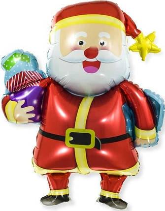 Фигура КИТАЙ-КТ Дед Мороз со звездой (УП), фото 2