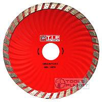 Алмазный диск T.I.P. 125 х 7 х 22,23 Турбоволна, фото 1