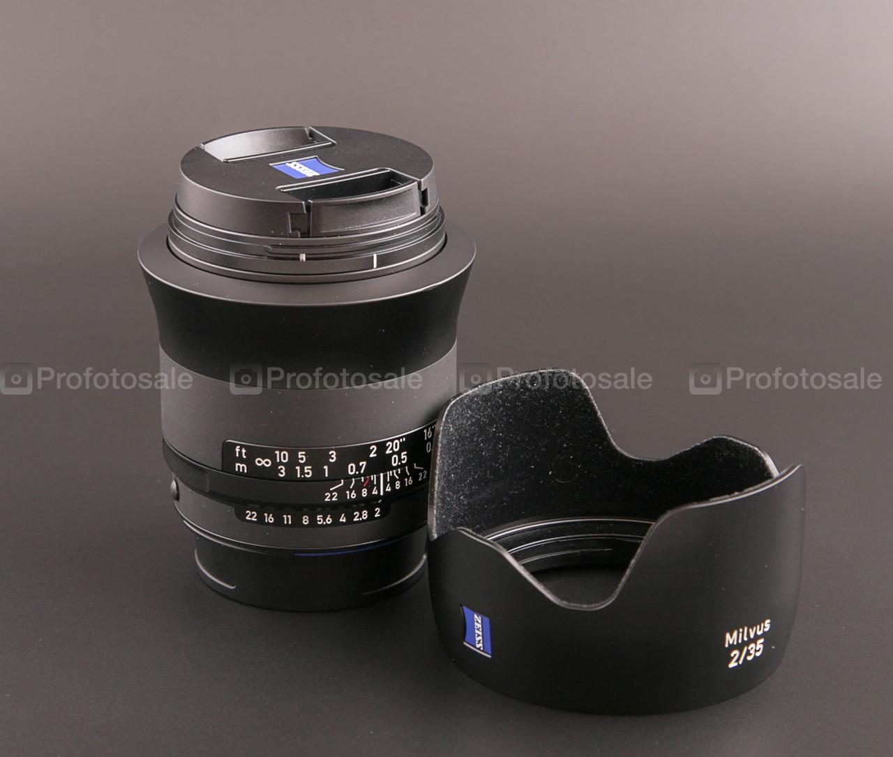 ZEISS Milvus 2/35 ZF.2-mount (Nikon)