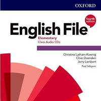 English File 4th Edition Elementary CLASS AUD CD (X5)