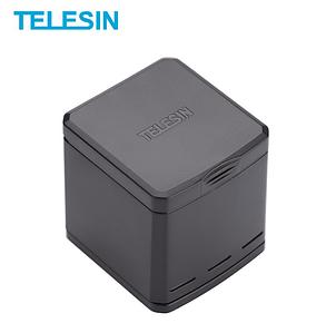 Зарядный устройство Telesin для 3х батарей GoPro HERO7, HERO6 и HERO5 Black