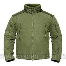 Тёплая флисовая куртка/кофта койот. Военная кофта тактическая. Новая. Пр-во Китай