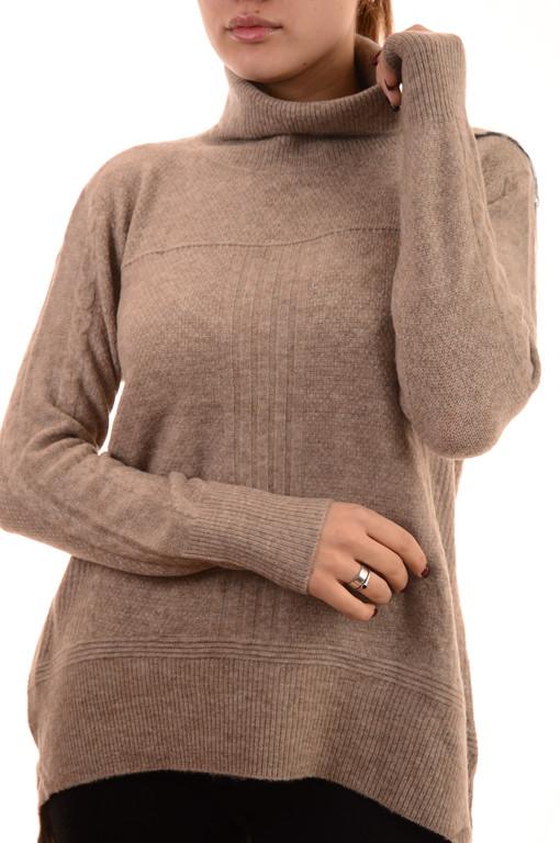 Акция!!Новая цена 12.45Є!!Теплый женский свитер - гольф оптом Louise Orop сток (лот 8шт по 12,95Є)