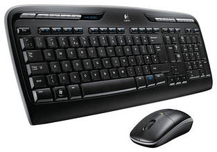 Комплект (клавиатура, мышь) Logitech MK330 Wireless Desktop (920-003995)