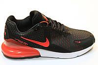 Кроссовки Nike Air Max 270 каучук (черный/красный)
