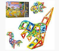 Магнітний 3D конструктор Динозаври, 97 деталей, конструктори з магнітами
