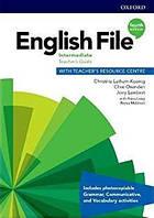 English File 4th Edition Intermediate TG + PK TRC, фото 1
