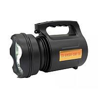 Аккумуляторный светодиодный LED фонарь прожектор ручной Well TD-6000-30W-T6 PRO ORIGINAL