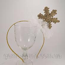 Обруч снежинки Корона для Снежинки или Снежной Королевы ободок с снежинкой обруч снежинка ободок