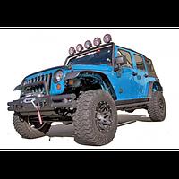 Расширители колесных арок ABS на 7 дюймов Jeep Wrangler JK 2007-2013