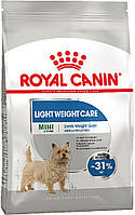 Royal Canin Mini Light Weight Care, 3 кг