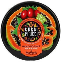 """Крем питательный для тела """"Папайя и Тамарилло"""" Farmona Tutti Frutti Body Butter, 275 ml."""