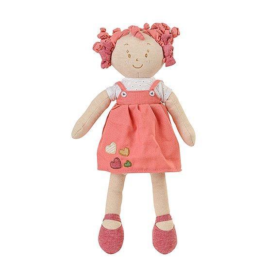 Дитяча м'яка іграшка BabyOno Лялька Лілі 37 см Червоний (1254)