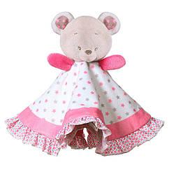 Детская мягкая игрушка-обиймашка BabyOno одеяльце BabyOno Мишка Сьюзи (1235)