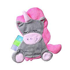 Детская мягкая игрушка-обиймашка BabyOno Единорог Мире (448)