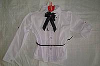 Блуза-трансформер белая для девочки