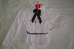 Блуза-трансформер белая для девочки (Польша)