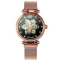 Механические наручные часы Forsining Cuprum-Black Diamonds