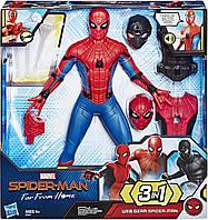 Большой интерактивный игрушка Человек-паук делюкс с оружием Hasbro Spider Man 35 см.