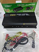 Преобразователь напряжения (инвертор) UKC RCP-1500Вт DC/AC 12В-220В, выход USB 5В. Повышенная надежность.