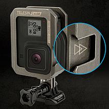 Алюминиевая защитная рамка для GoPro 8 Black Telesin, фото 3