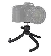 Гибкий штатив для телефона,фотокамер,экшн камер Puluz 25cm + крепление для телефона и GoPro, фото 3