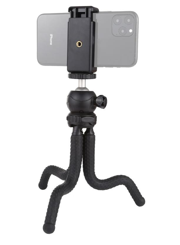 Гибкий штатив для телефона,фотокамер,экшн камер Puluz 30cm + крепление для телефона