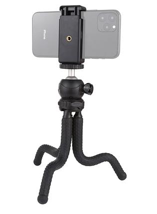 Гибкий штатив для телефона,фотокамер,экшн камер Puluz 30cm + крепление для телефона, фото 2