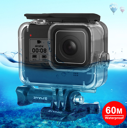 Защитный водонепроницаемый бокс для GoPro 8 Black Puluz, фото 2