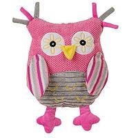 М'яка іграшка BabyOno Сова Рожевий 25 см (1255)