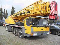 Аренда Автокрана 55 тонн, стрела 41 метр плюс консоль 15 метров. По всей Украине