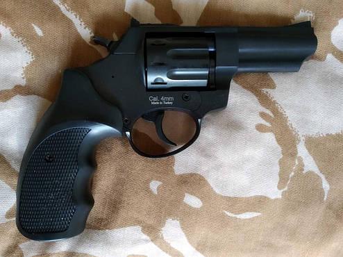 """Револьвер под патрон Флобера Ekol Viper 3"""" Black, фото 2"""