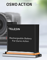 Аккумулятор Telesin для DJI Osmo Action, фото 1