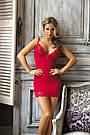 Сексуальная ночная сорочка красная Excellent Beauty RAMONA R-601, фото 3