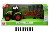 Игрушка трактор инерционный