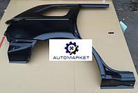Крыло заднее правое (Филенка) Mitsubishi Outlander III 2015-