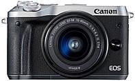 Камера CANON EOS M6 Silver + объектив 15-45 мм
