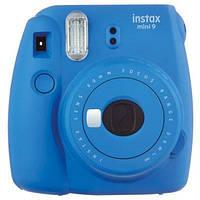 Камера FUJIFILM Instax Mini 9 blue + картриджи 10 шт.