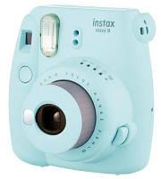 Камера FUJIFILM Instax Mini 9 light blue + картриджи 10 шт.