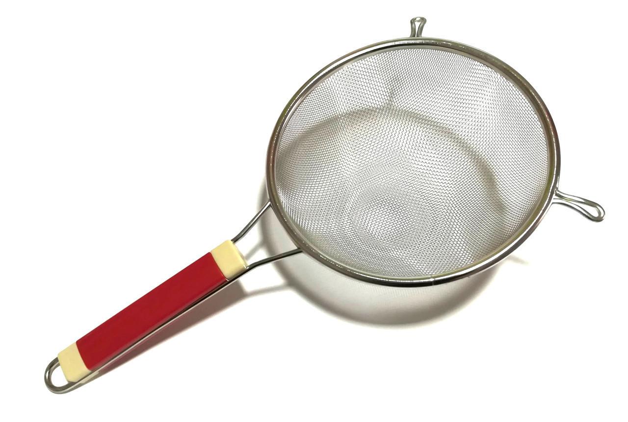 Сито кухонное с пластиковой ручкой 22 см